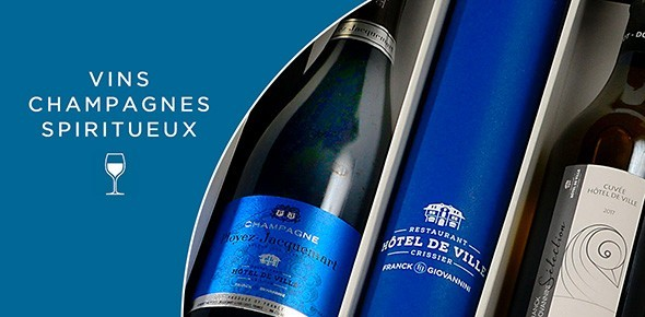 Vins, Champagne & Spiritueux